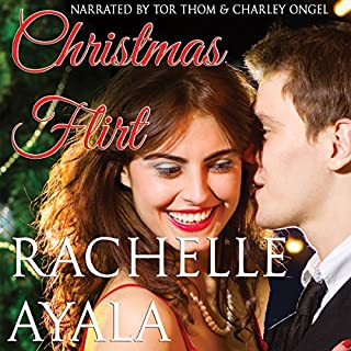 Christmas Flirt audiobook cover art