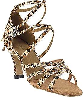 "Women`s Ballroom Dance Shoes Tango Wedding Salsa Shoes 5008EB Comfortable-Very Fine 3""[Bundle of 5]"
