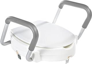 Ridder A0072001 - Alzador para el inodoro con brazos, color blanco