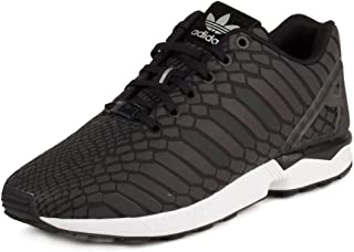 Mens ZX Flux Black/Iridescent Synthetic Size 10