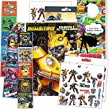 Transformers Rescue Bots Coloring and Activity Book Set - Bundle Includes: 96-pg Coloring Book, Stickers and Superhero Door Hanger
