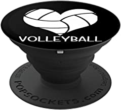 I Love Volleyball Heart Gift Idea for Teen Girls and Boys