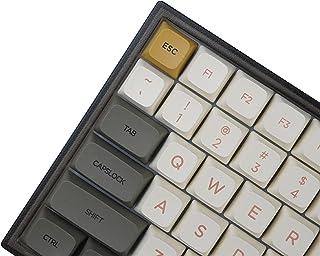 PBT 残り火ドーン シマー ダイサブ メカニカル キーキャップ、125 キー、XDA轮廓、60%、65%、75%、80%、90%、100%のほとんどのレイアウトキーボードに適しています