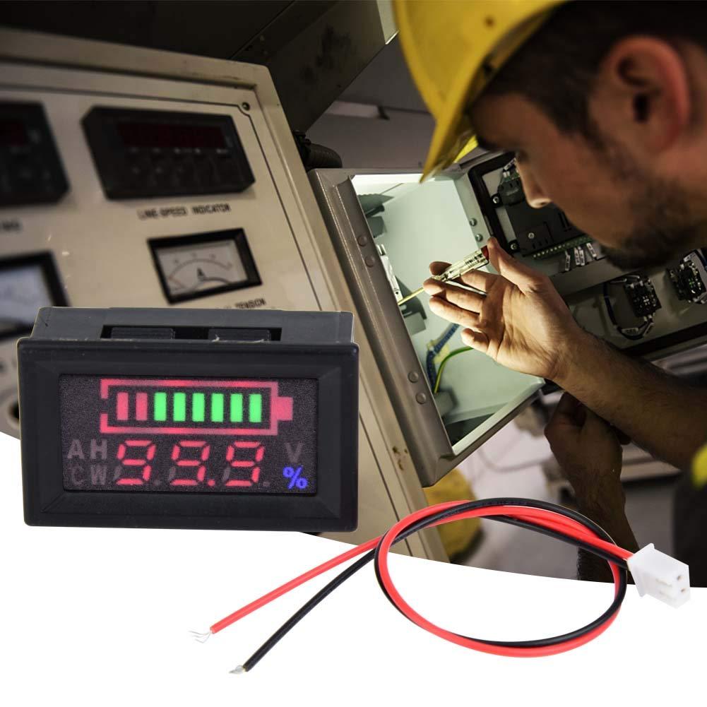 Monitor Voltmeter New Free Shipping Product Gauge Digital 6 to Volt Detector 80V Vol Panel