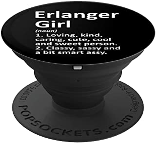 ERLANGER GIRL KY KENTUCKY Funny City Home Roots Gift PopSockets Grip and Stand for Phones and Tablets