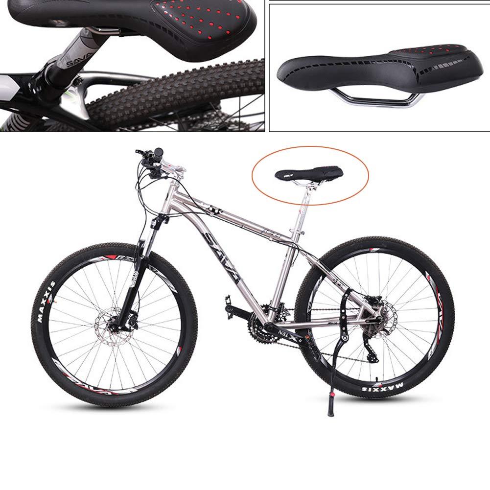 Sillin Bicicleta Montaña Ergonómica,Silla de Bicicleta con ...