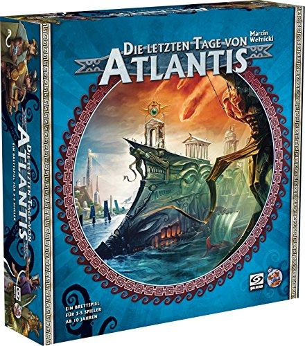 Asmodee HE589 Die letzten Tage von Atlantis