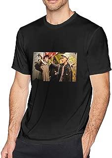 King Krule Easy Easy Men's Short Sleeve T-Shirt Home Shirt for Men Black