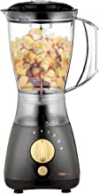 Koolen Blender with Grinder 4 Speeds 350 W Black & Gold, Mixed Material
