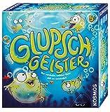 Kosmos 697648 Glupschgeister, lustige Geisterjagd in der Tiefsee,  Kinderspiel ab 5 Jahre, Suchspiel und Reaktionsspiel