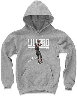 500 LEVEL Damian Lillard Portland Basketball Kids Hoodie - Damian Lillard Hyper