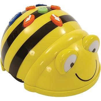 TTS Bee Bot - Programmable Floor Robot (Rechargeable), Jaune, EL00363