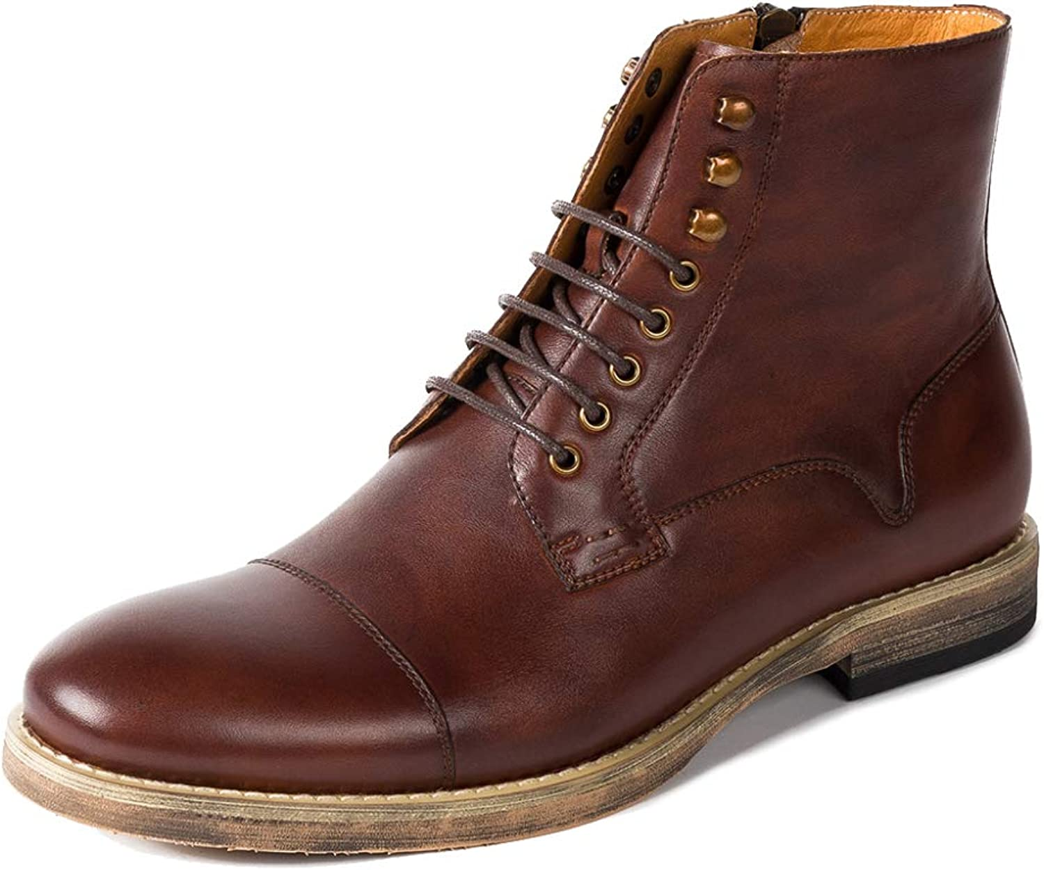 Boots Men's Leather Martin Boots Chukka Desert Hiking shoes Snow Boots Work Boots Lace-up Boots