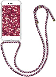 3804b429c0d kwmobile Funda con Cuerda para Apple iPhone 6 Plus / 6S Plus - Carcasa  Transparente de