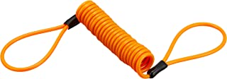 【6ヶ月保証付】ストッピングワイヤー ケーブル オレンジ ロック 鍵 盗難防止用品[ディスクロック][ワイヤーロック] 36696