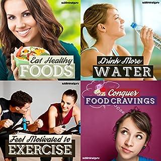 Healthy Eating Subliminal Messages Bundle audiobook cover art