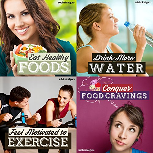 Healthy Eating Subliminal Messages Bundle audiobook cover art