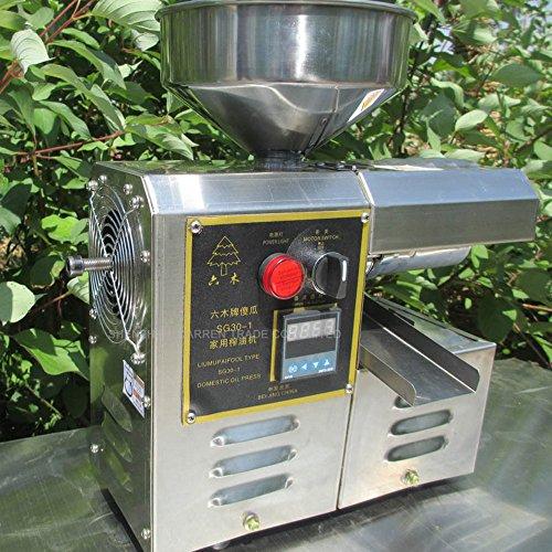 Huanyu olio pressa macchina ad alta estrazione olio di lavoro risparmiatore olio presser in acciaio inox ad alta estrazione olio pressa SG30-1