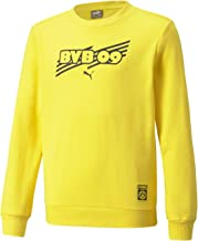 PUMA BVB FtblCore Crew Sweat Jr Jongens sweater