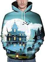 MIUCAT😸 Men Women Mode 3D Print Autumn Winter Casual Long Sleeve Halloween Couples Hoodies Top Blouse Shirts Outwear