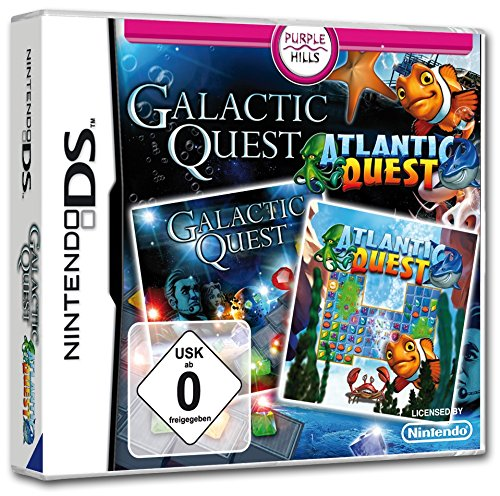 Atlantic Quest + Galactic Quest (DS)