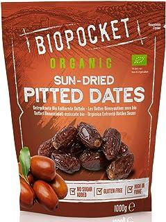 comprar comparacion Biopocket - Dátiles ecológicos secos sin hueso, 1 kg