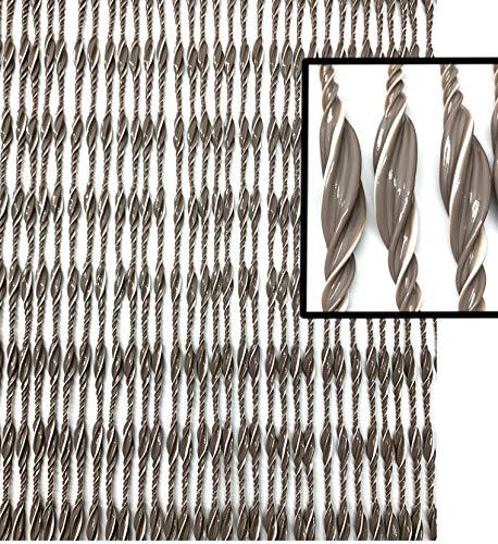Moritz Tür-Vorhang aus PVC 90 x 220 cm 85 Stränge Türvorhang als Fliegenschutz Insektenschutz für Camping Wohnwagen Haustür Gartentür