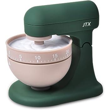 JTX Kitchen Timer Cooking Timer Reminder 60-Minute Mechanical Countdown Clock Time Management (Mixer Timer)