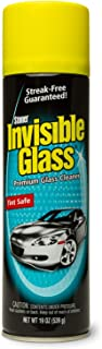 Invisible Glass 91164 - Cleaner for Auto and Home for a Streak-Free Shine, Deep-Cleaning Foaming Action, Safe for Tinted a...