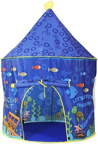edición limitada en caliente Tienda de juegos para Niños casa de Juegos para Niños Niños Niños casa de Juegos para Parques de diversiones (Color   azul, Talla   76  98  132cm)  marca en liquidación de venta