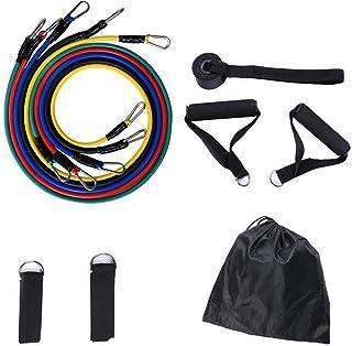 LHFD Hem fitness motståndsband träning elastiska dragrep, för hem gym yoga träning kropp stretch kraftlyftning, motståndst...