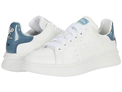 Marc Jacobs The Tennis Shoe (White/Blue) Women