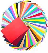 50 sheets colored A4 paper, Origami Paper Double Sided Color, colorful sheets of 200g / m², Premium Craft Cardstock Paper,...