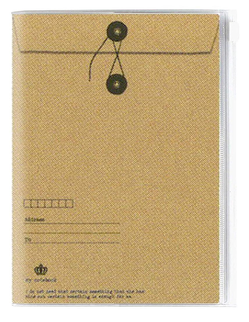 関係近似ニュージーランドZISA/ジーサ 手帳 2020年 B6 マンスリー チャックポケット 封筒 MY12-10?(2020年 1月始まり)