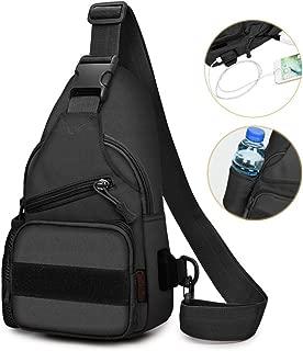 Sling Bag Shoulder Chest Cross Body Backpack Men Women Lightweight Hiking Travel Backpack Daypack