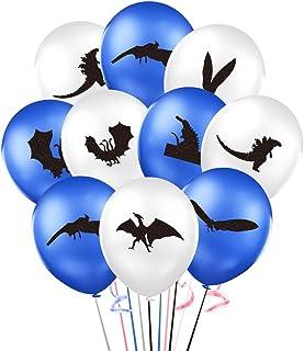 "Godzilla Balloons, 12"" Forest Animal Godzilla Latex Balloon for Kids Baby Shower Birthday Party Supplies Decorations"