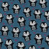 Softshell Pinguine mit Herz, wind- und wasserabweisend,