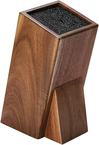 high quality Universal Acacia new arrival Wood Knife Holder,Knife Holder, Large Capacity, wholesale Kitchen Household Multifunctional Knife Storage and Placement Rack outlet online sale