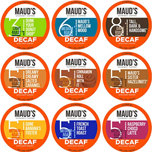 Maud's Decaf Coffee Variety Pack, 80ct. Now $22.72 (Retail $29.90)