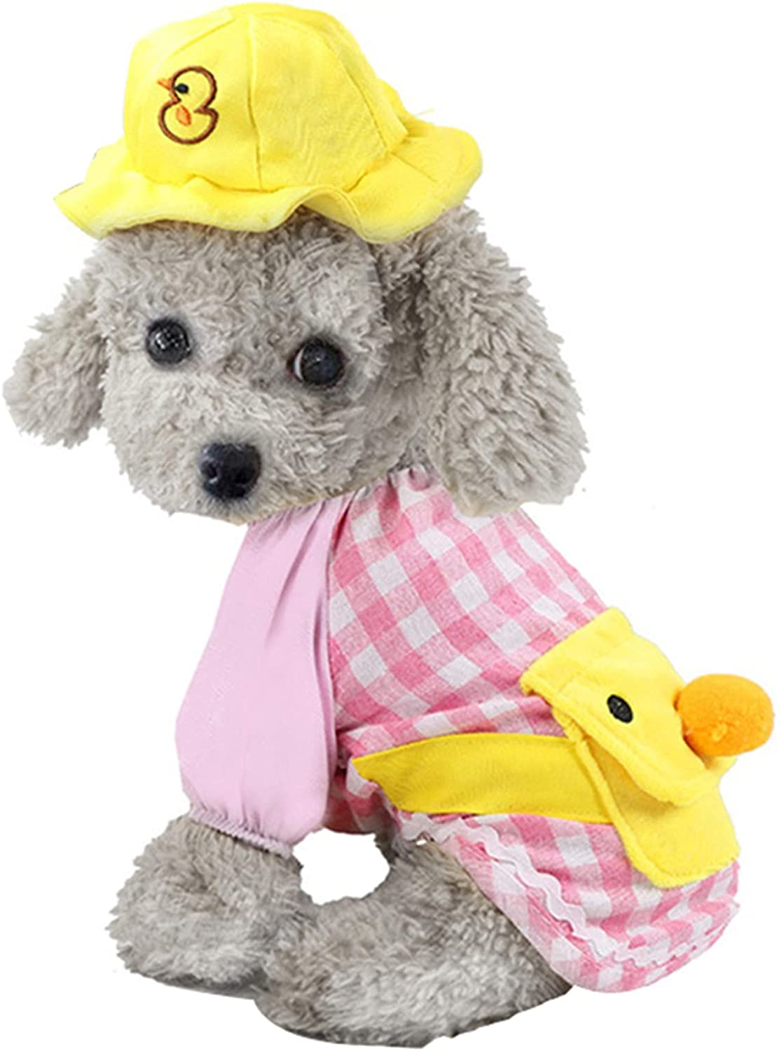 wastreake Pet Clothes Little Yellow C Backpack Dog Ranking Sales results No. 1 TOP13 Duck Cartoon
