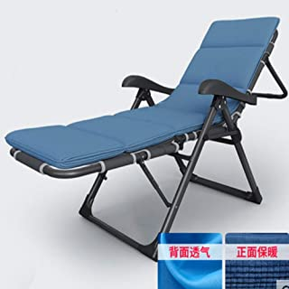 Sunloungers Patio ChairFolding Sun Lounger Balcony Lunch Break Lounge Chair Multi-function Household Nap Portable Backrest...