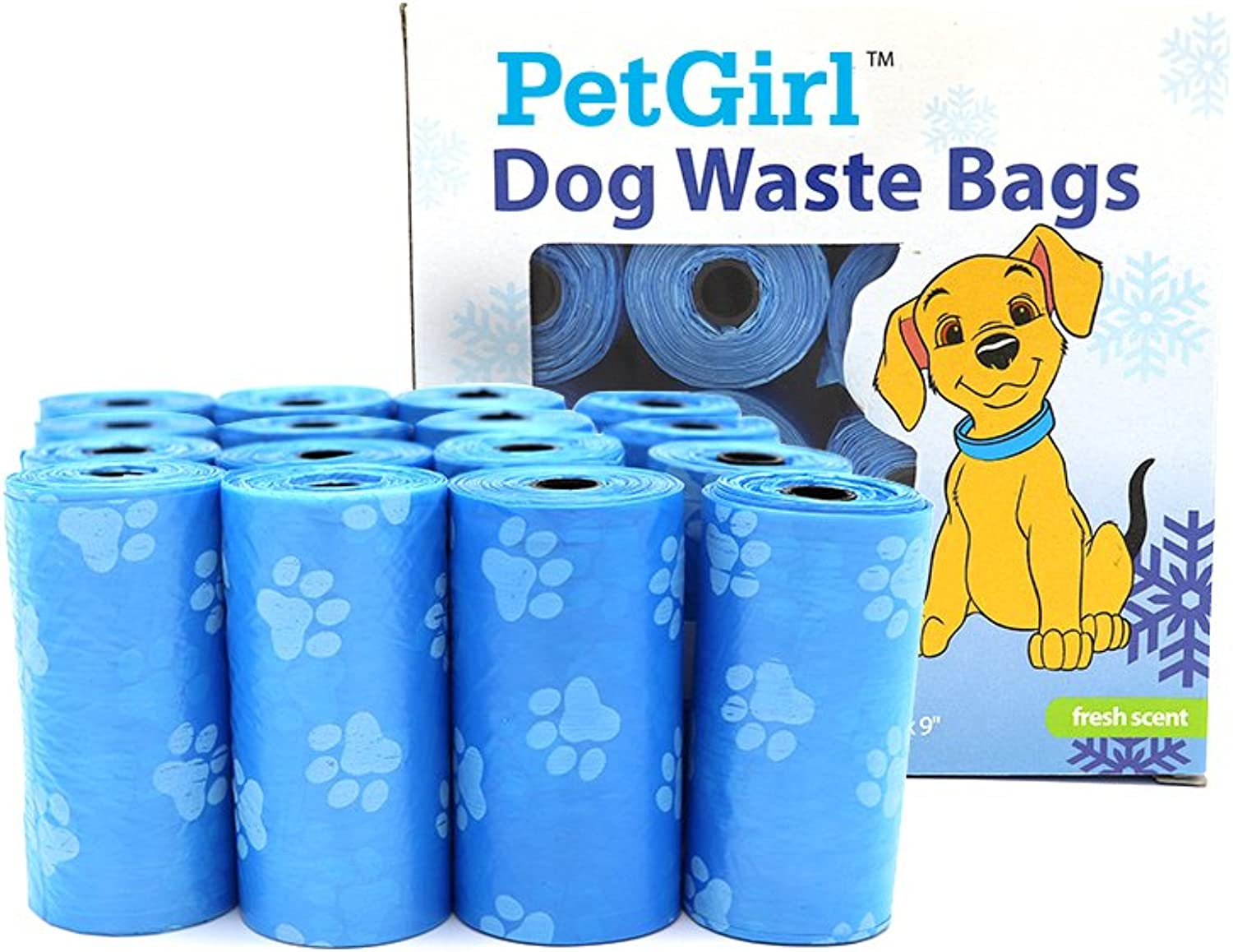 Doggie Bags Doggie Poop Waste Bags Unscented LeakProof Doggie Bag Refill
