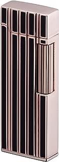 Sarome Flint Lighter SD9-34 Rose gold / Black line diamond cut