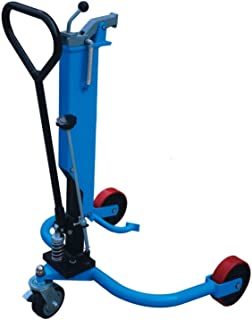 DP25 Drum Picker Handler Hydraulic Oil Drum Truck Lifter Cart 550lb for Factries Workshop Warehouse Dock Operations