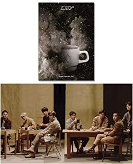 EXO 2017 Winter Special Album [UNIVERSE] K-POP Music CD + Booklet + Photo Card + Special Gift (4 Photo Cards Set)