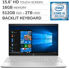 hp pavilion notebook touch screen