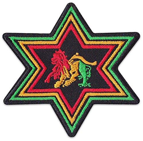Lion of Zion parche planchar Patch León Judah Reggae