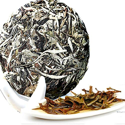 100g (0.22LB) Caicheng wohlriechender weißer Tee Moonlight alter Puerh Tee Puer roher Tee Schönheits-Tee-alter Baum-organischer Nahrungsmitteltee weißer Pfingstrose Tee roher Tee chinesischer Tee