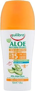 Equilibra Aloe Crema Solare Spray Spf 15, 150 ml