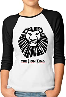 Female The Lion King Raglan Baseball T-Shirt